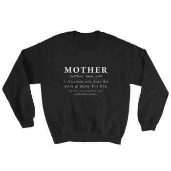 Definition Mother's Women's Sweatshirt